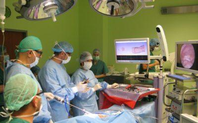 Laparoskopowe  leczenie przepukliny pachwinowej i zespołu bolesnej pachwiny