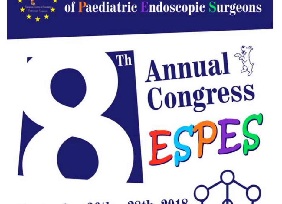 Kongres Europejskiego Towarzystwa Chirurgów Dziecięcych – Bruksela 2018