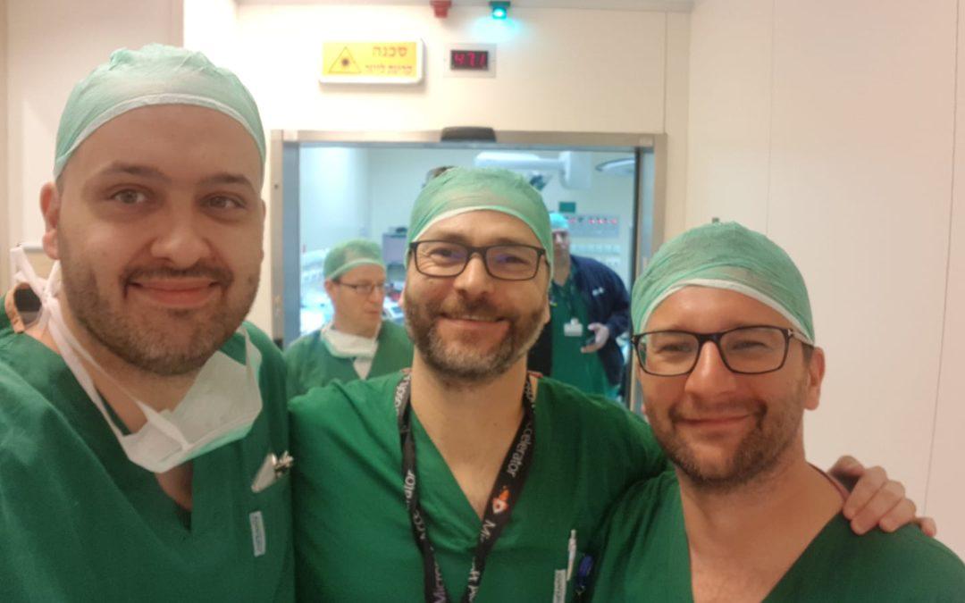 Kolejne międzynarodowe szkolenia naszych ortopedów