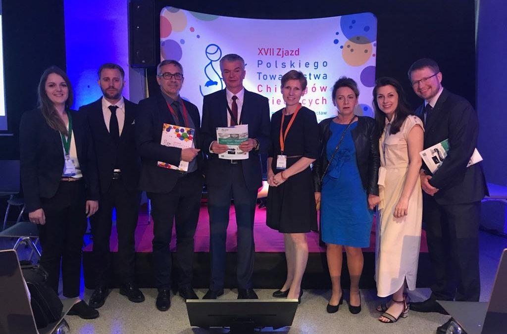 Nasi lekarze prelegentami  XVII Zjazdu Polskiego Towarzystwa  Chirurgów Dziecięcych